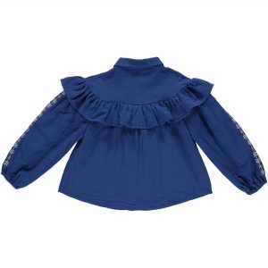 Kaleidoscope Kyoto Blue Blouse Kids Wear