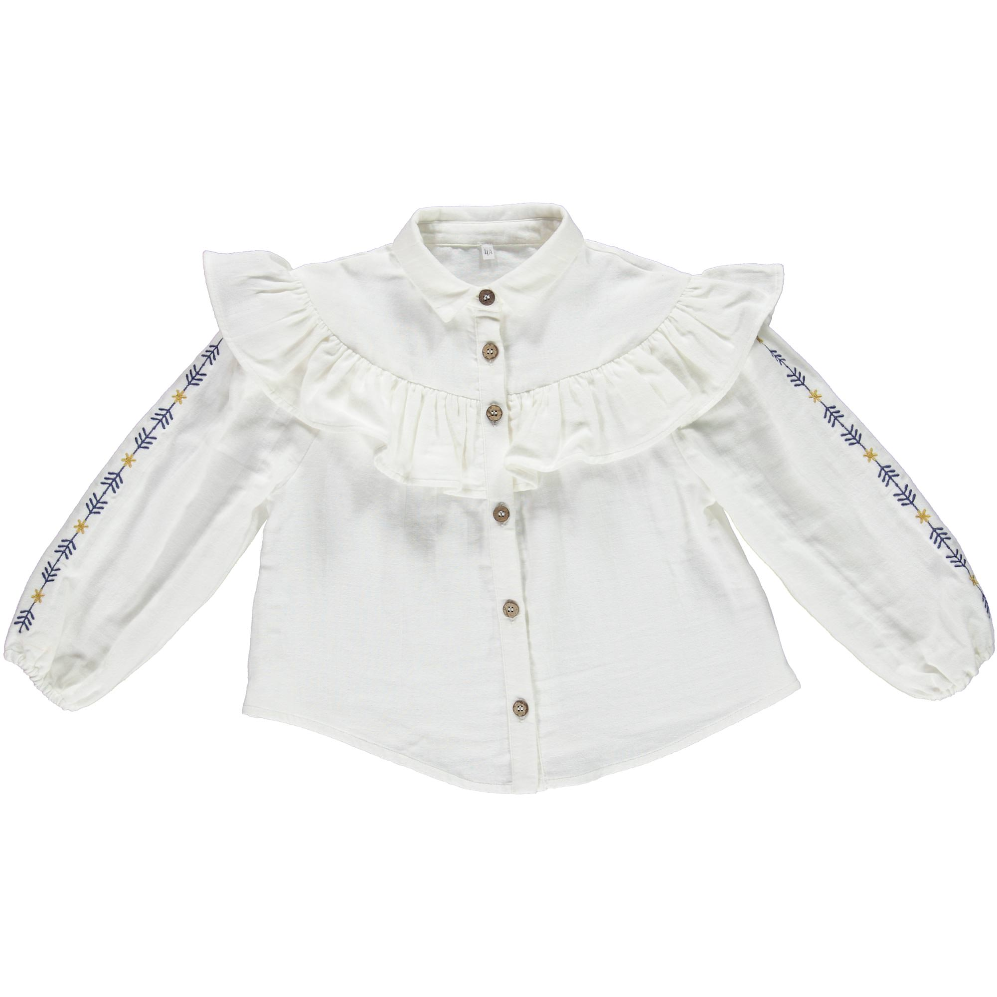 Kaleidoscope Kyoto Ecru Blouse Kids Wear