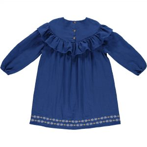 Kaleidoscope Kyoto Blue Dress Kids Wear